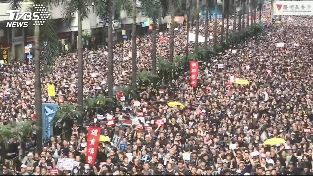 圖/TVBS 外交政策刊文 香港反送中推升蔡總統連任可能