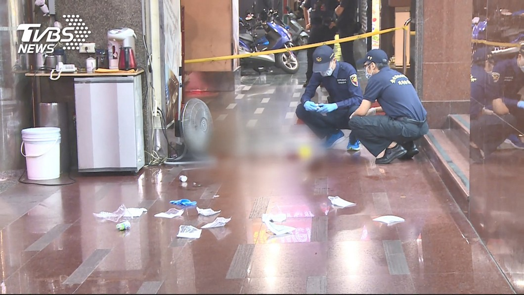 圖/TVBS資料畫面 酒醉被扶竟槍殺三溫暖泊車員工 男一審判無期徒刑