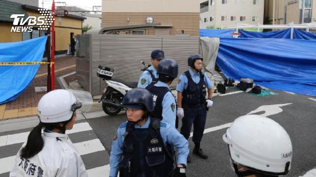 圖/達志影像美聯社 父親出面指認 大阪襲警奪槍嫌犯落網