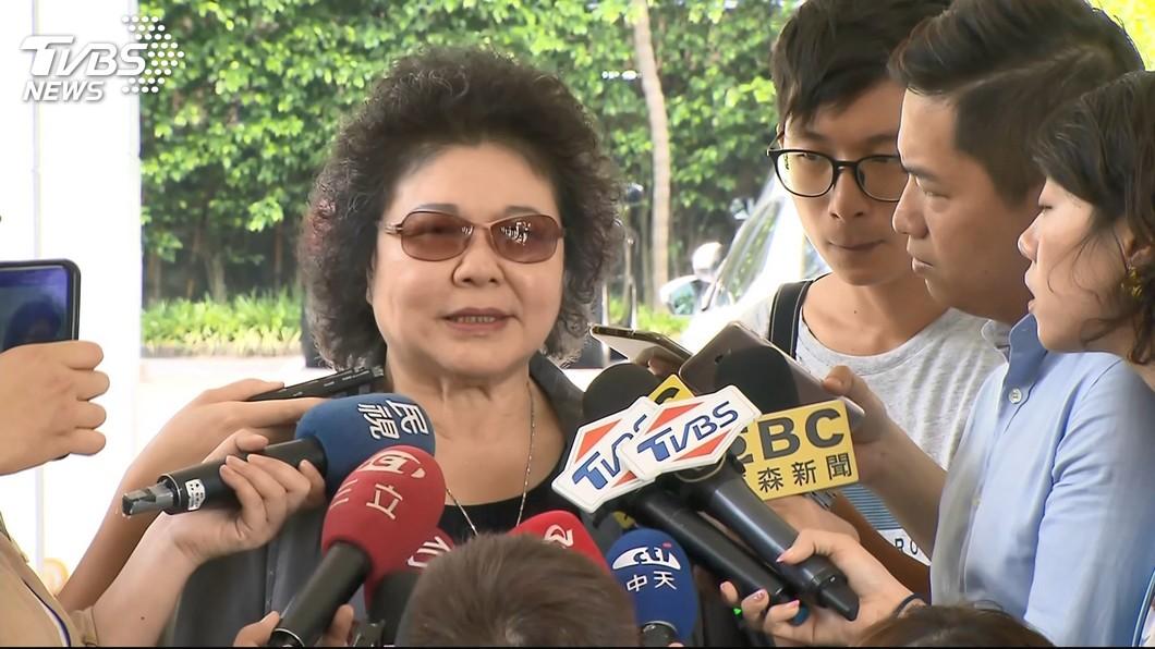 圖/TVBS 是否接蔡總統2020競選總部主委 陳菊:還沒討論