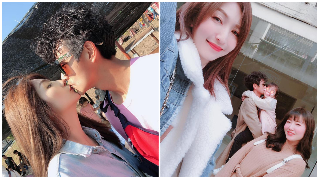 阿翔的妻子是在臉書發文,似乎是原諒了對方。(圖/翻攝Out Of Control 媽咪Grace臉書)