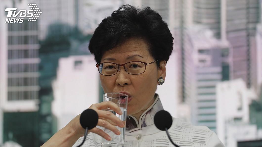 圖/達志影像美聯社 港反送中抗議鬧大 林鄭月娥處理不妥陸不滿