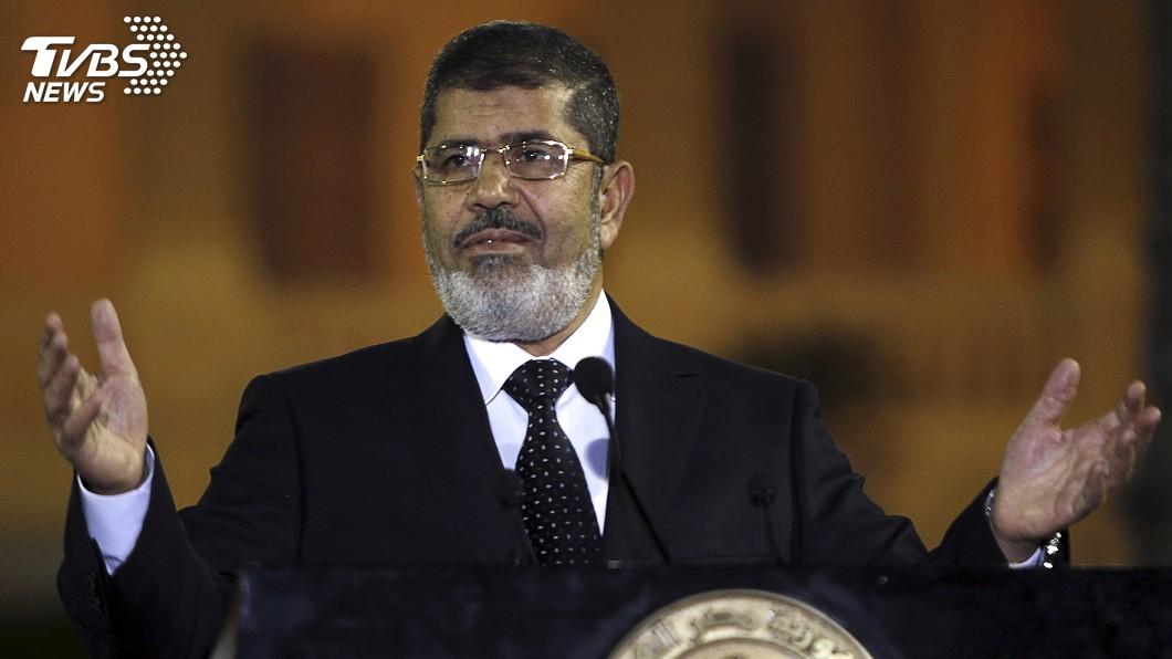 圖/達志影像路透社 埃及前總統出庭猝死 生前處境極度悲慘