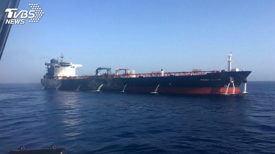 圖/達志影像路透社 增兵千人公布新照片 美咬定伊朗攻擊油輪