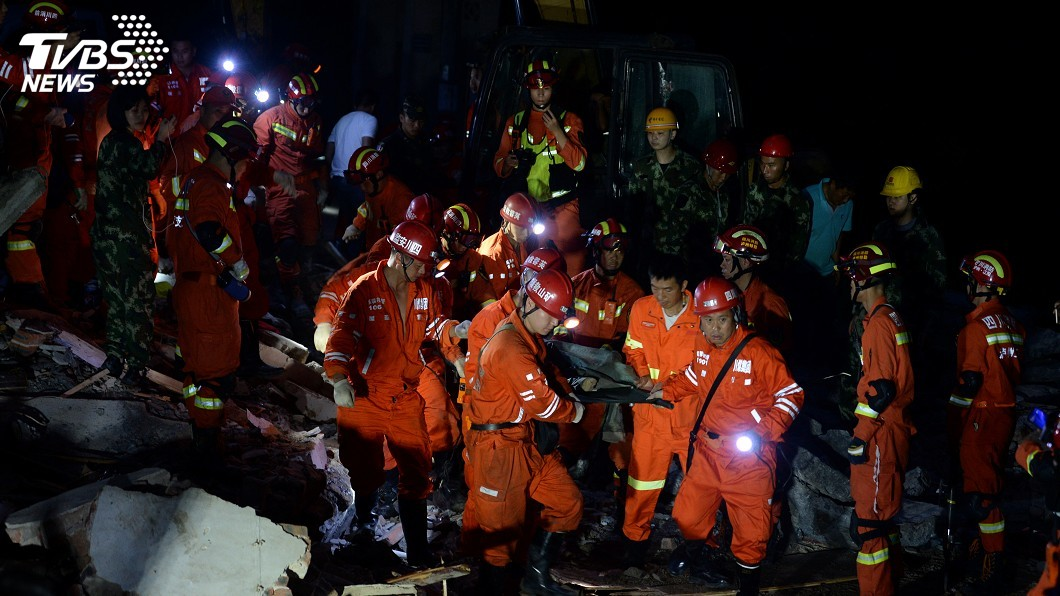 圖/達志影像路透社 四川地震釀災 無台籍觀光客傷亡或受困