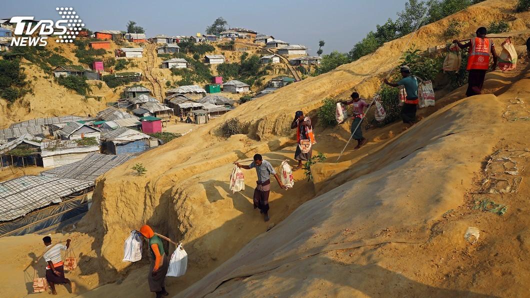 圖/達志影像路透社 緬甸軍鎮壓洛興雅 聯合國體制失能間接幫凶