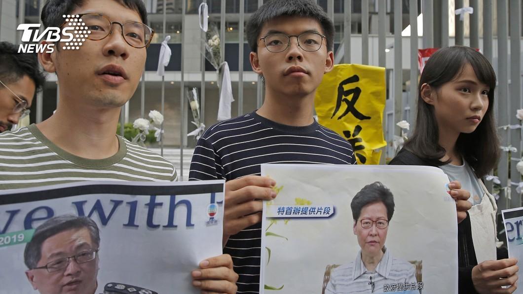 圖/達志影像美聯社 北京對外力挺林鄭 外媒:其實已對她失去信心