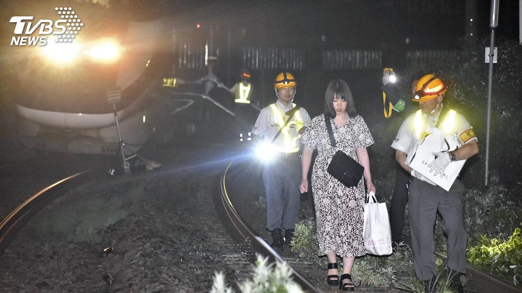 圖/達志影像美聯社 日本新潟山形6.7強震 民眾驚慌逃難21傷