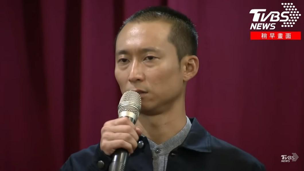 圖/TVBS資料畫面 心疼阿翔遭人丟石頭 浩子淚:他是我家人