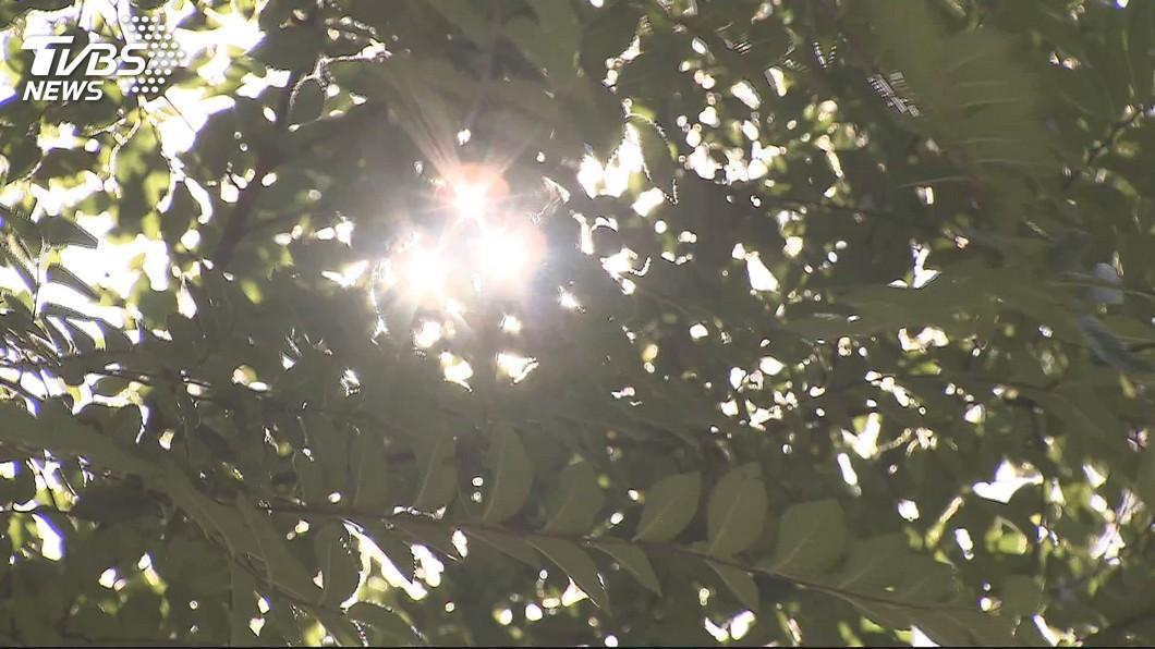 圖/TVBS 快訊/熱炸!「花、東、雙北、高」 5地亮高溫橙燈