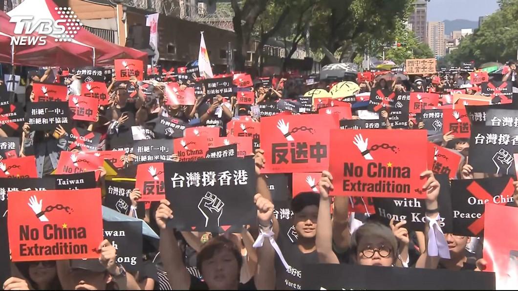 香港民眾身分認同  香港人比例高於中國人