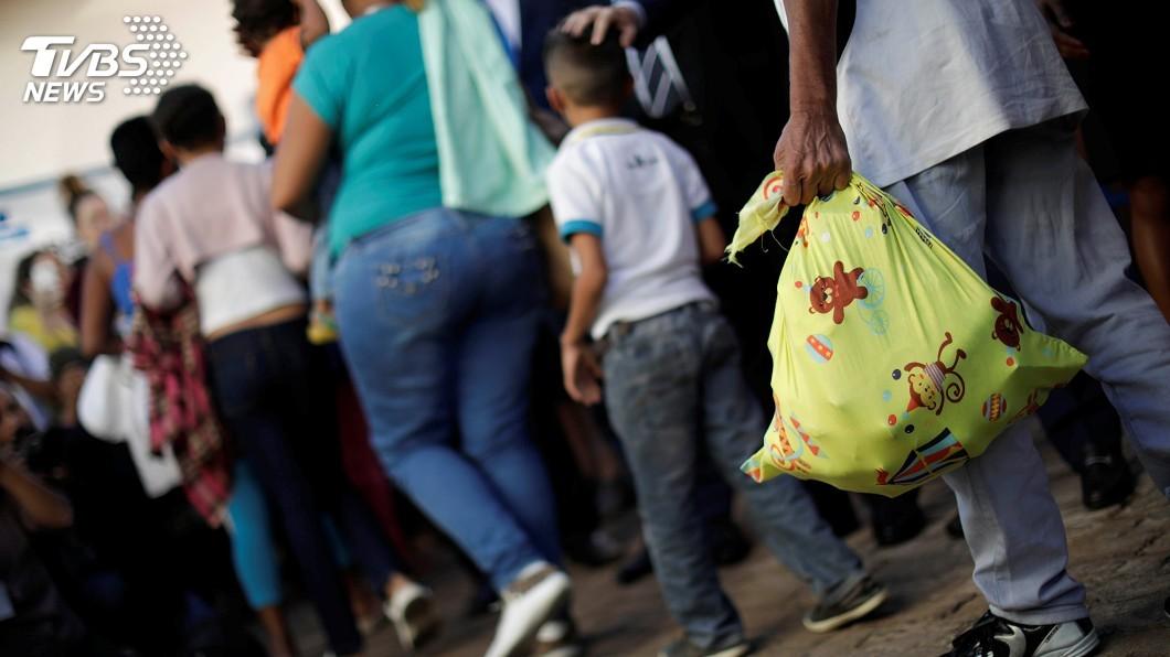 圖/達志影像路透社 接收難民寬容度 調查:巴西高於全球平均值