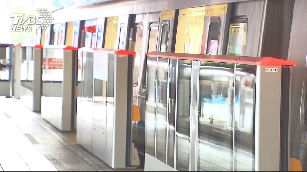 圖/TVBS 北捷新北投支線隔音牆施工案 月台有變旅客注意