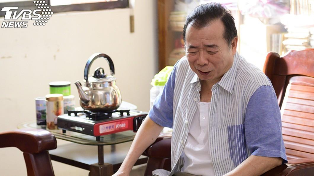 圖/TVBS 廖峻中風後復出「稍微吃力」!劇組貼心3原則讓他坐著拍