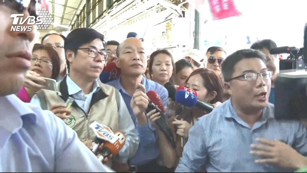圖/TVBS 「為何爆發登革熱」被批不專業 韓澄清:是在探討問題