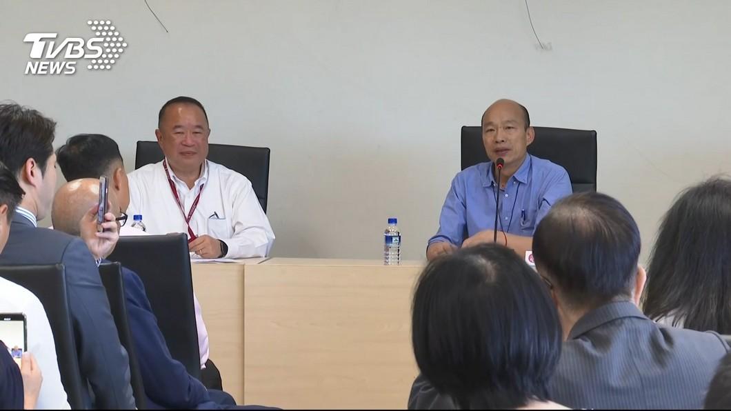 圖/TVBS 韓國瑜近期民調下滑 大陸學者談「韓粉」