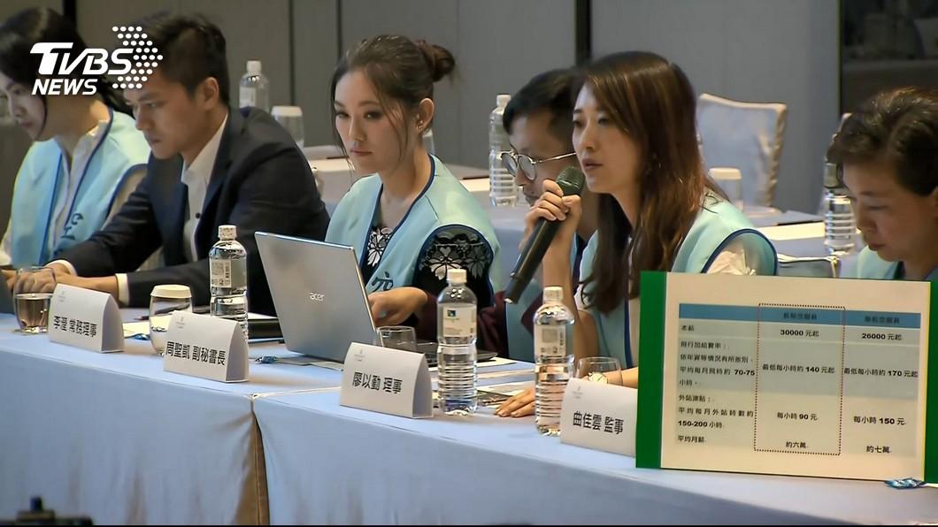 圖/TVBS 反制!空服員罷工突襲 長榮宣布:不發年終、不調薪