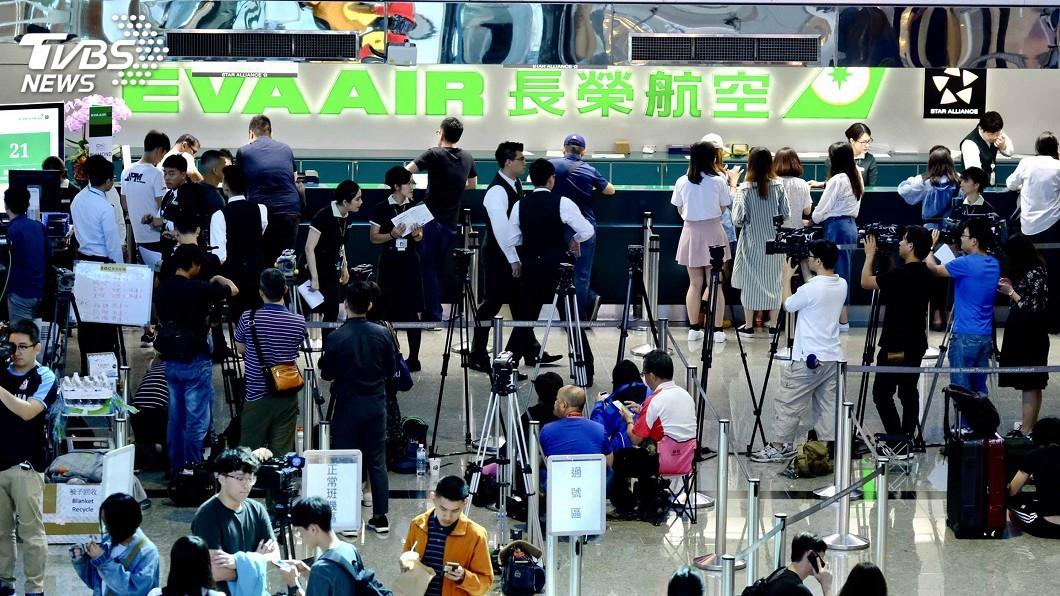 圖/TVBS資料畫面 影響擴大!長榮明取消117班次 6/29前停售機位