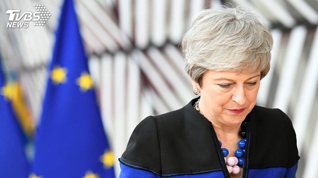 圖/達志影像路透社 最後一次出席歐盟峰會 梅伊仍盼實現脫歐