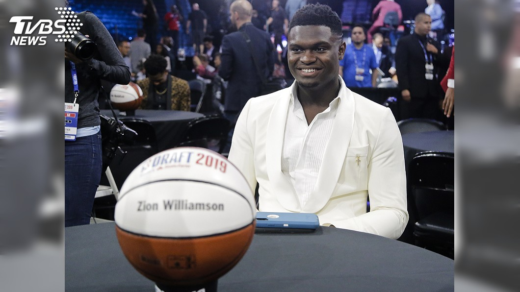 圖/達志影像美聯社 2019年NBA選秀狀元出爐! 威廉森被鵜鶘選中