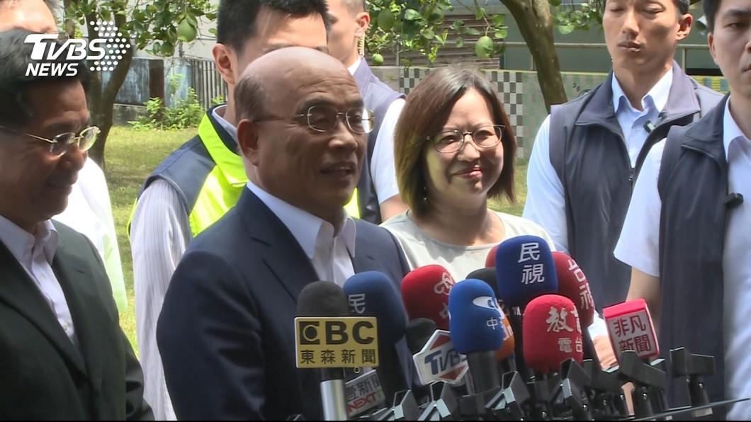 行政院長蘇貞昌。圖/TVBS 稱「可出動軍機」協助長榮! 他嗆蘇揆:真正唬爛王