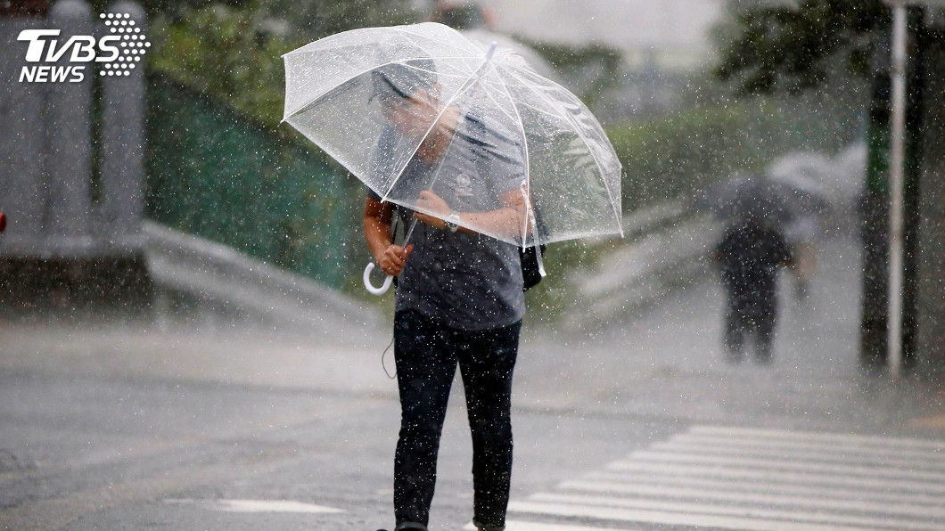 示意圖/達志影像路透社 日本千葉強降雨 氣象廳發大雨及土石警戒情報