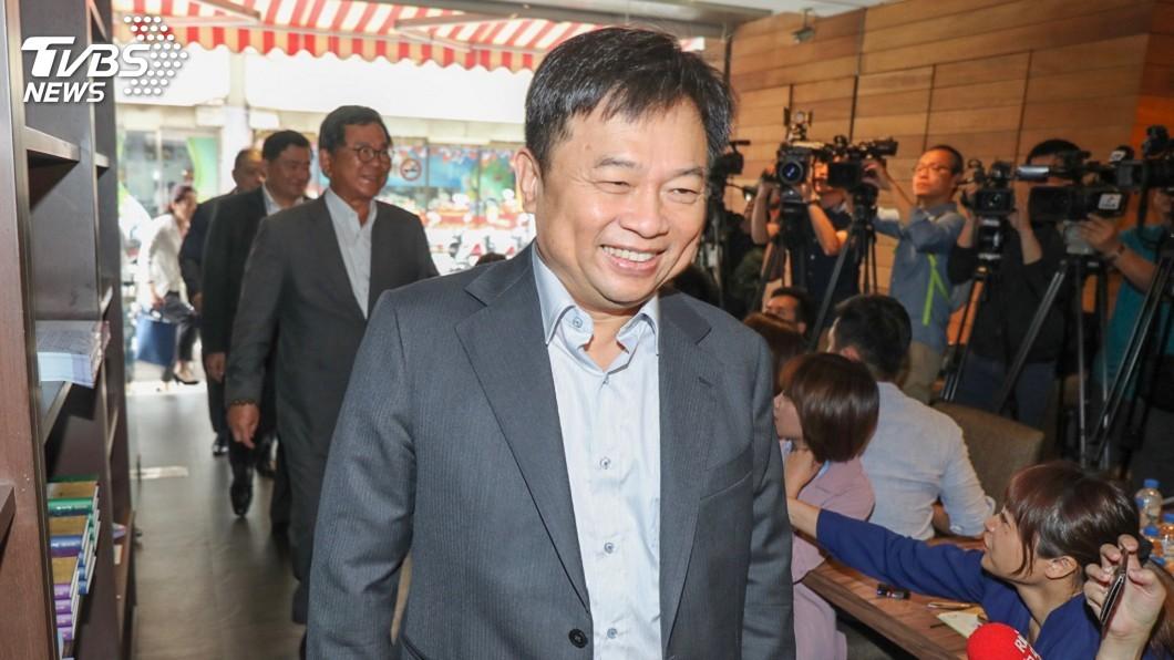 圖/中央社 蔡總統競選總部籌組 核心幕僚林錫耀進駐操盤