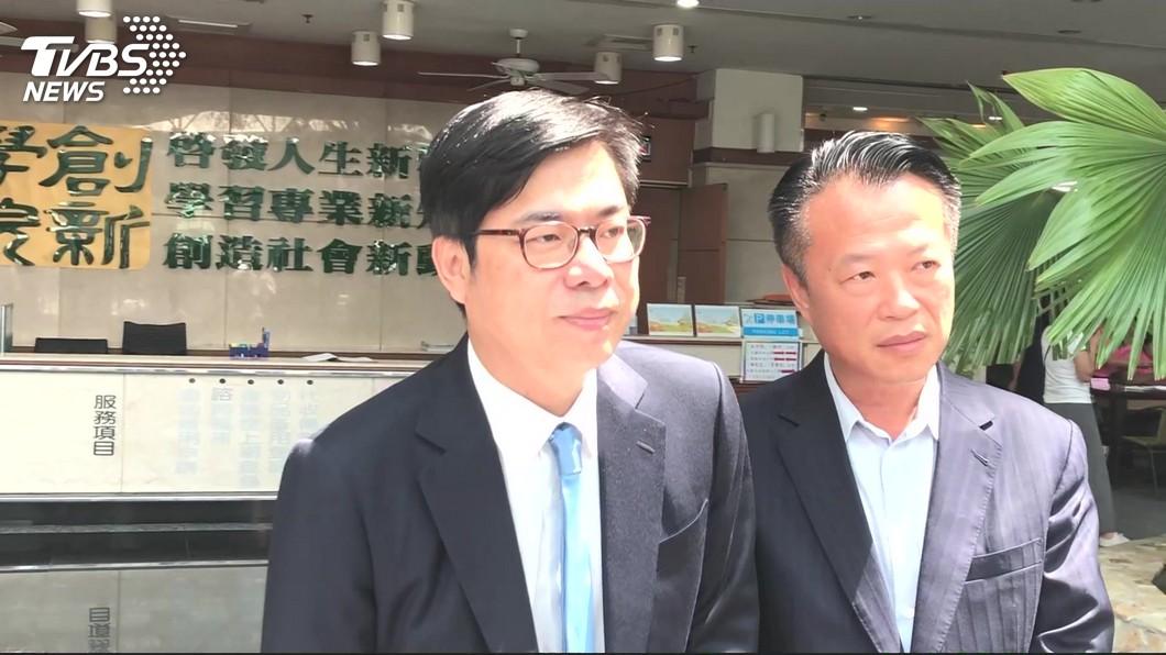 陳其邁提醒韓國瑜,莫忘自己仍是高雄市長。圖/TVBS資料照
