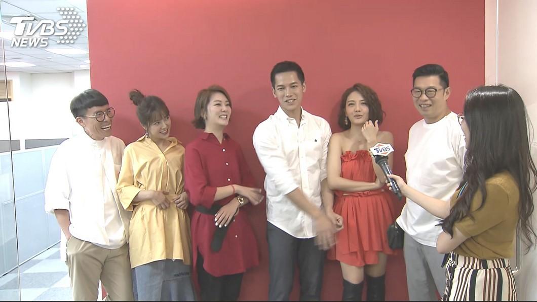 圖/TVBS 吃美食拚知識《女力》 成員集合登《食尚玩家》