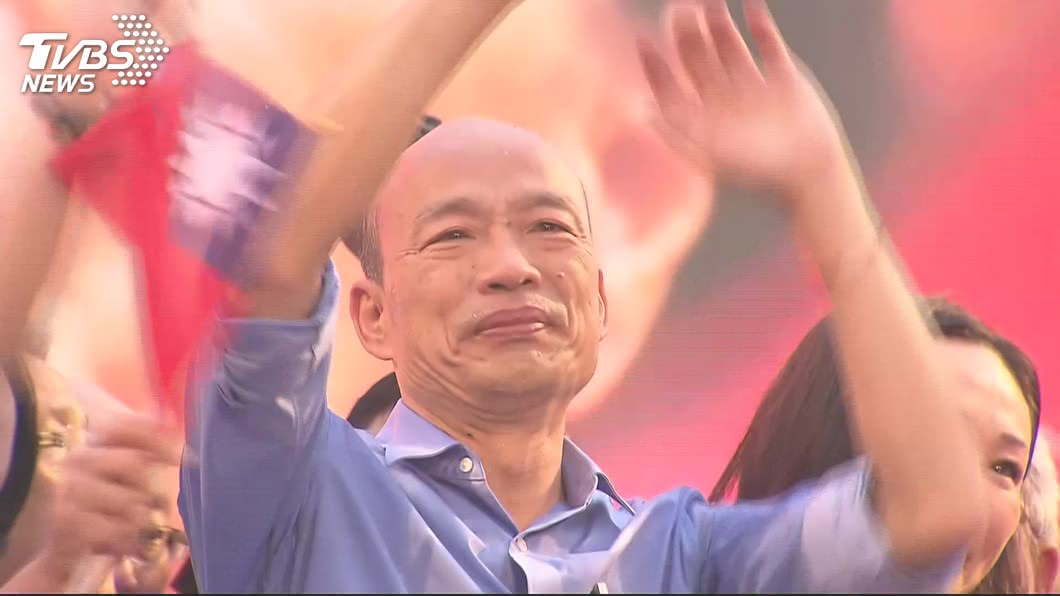 高雄市長韓國瑜。圖/TVBS 「只有貪念沒有智慧」 他嗆韓國瑜:把自己全賭上了!