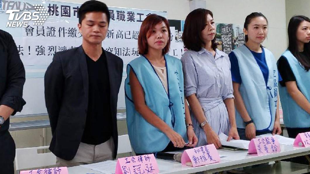圖/中央社 長榮提告求償每天3400萬 工會下週也要反告