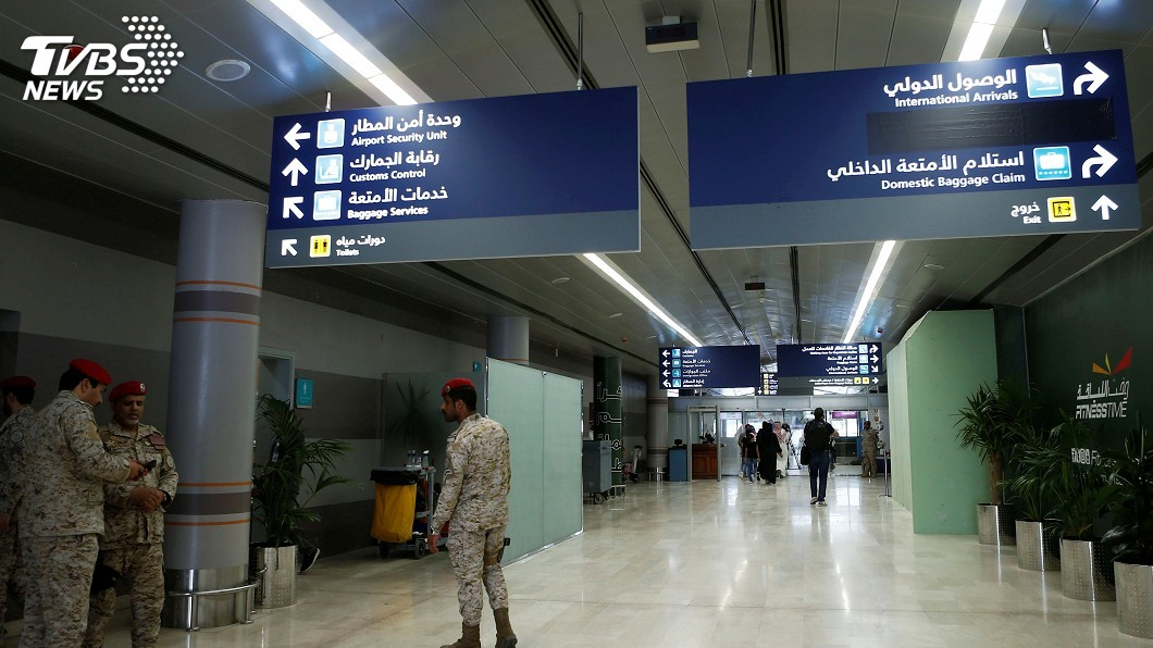 圖/達志影像路透社 葉門叛軍攻擊沙烏地南部機場 1死7傷