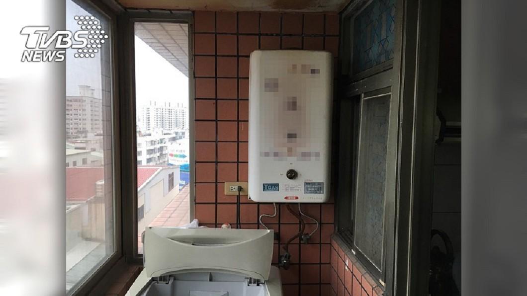 示意圖,與本文無關。圖/TVBS 房東省電關熱水 她怨二寶只能洗冷水澡「感冒好不了」