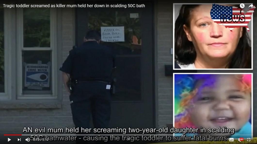 這名母親被逮時還不斷辯解。圖/翻攝自YouTube