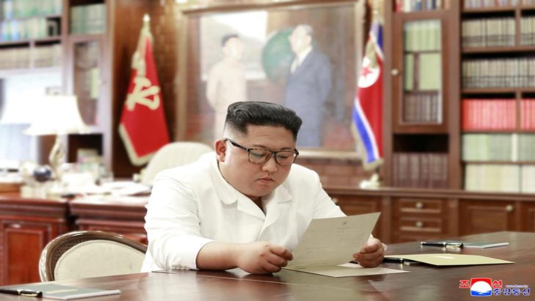 圖/達志影像路透 傳川普將訪板門店 致信金正恩獲回應