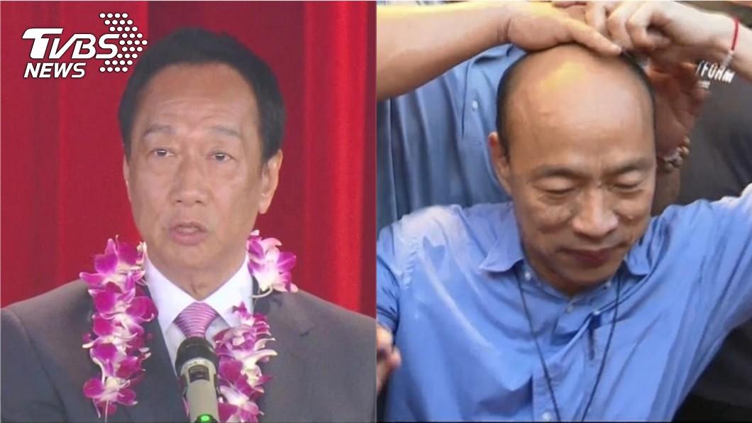 卓榮泰分析國民黨2020總統參選人最有可能派出的人選。圖/TVBS 他評韓像石頭一直在風化 郭台銘是水晶很脆弱