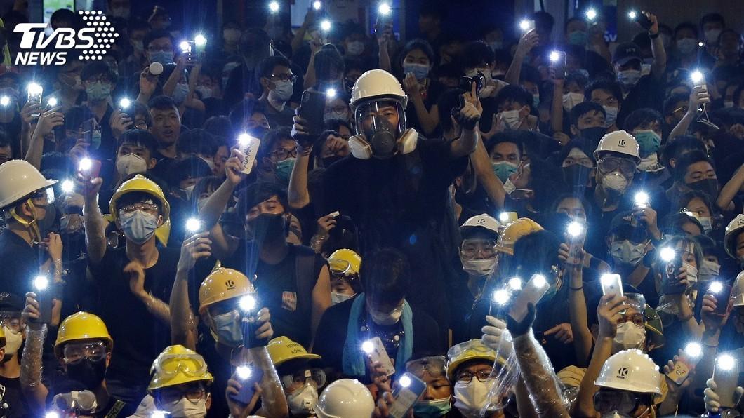 圖/達志影像美聯社 為2047年民主而戰! 百萬人為香港未來上街