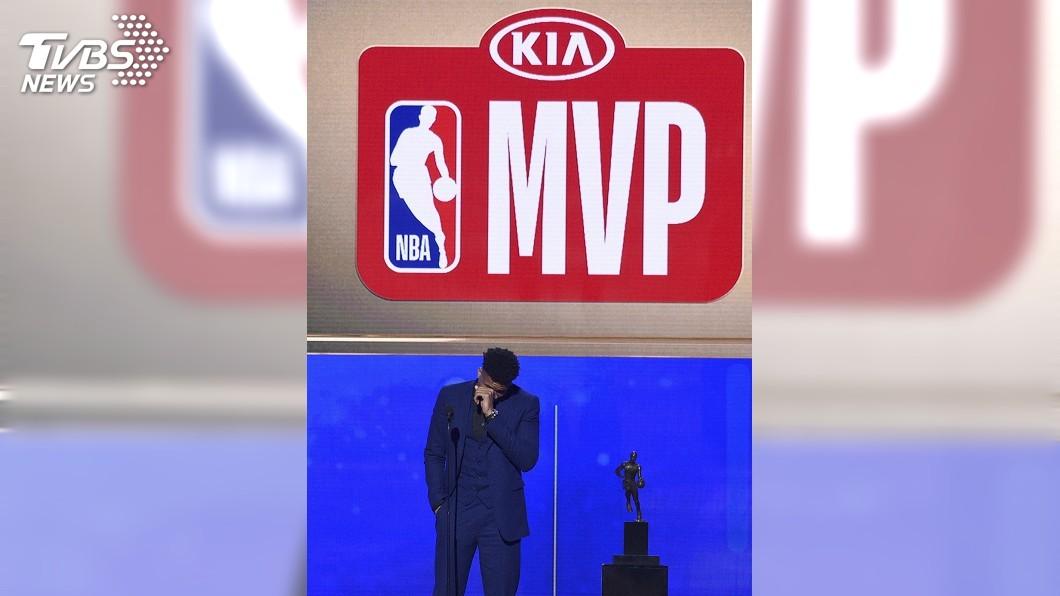 圖/達志影像美聯社 從人球到MVP 安特托昆博詮釋男版麻雀變鳳凰