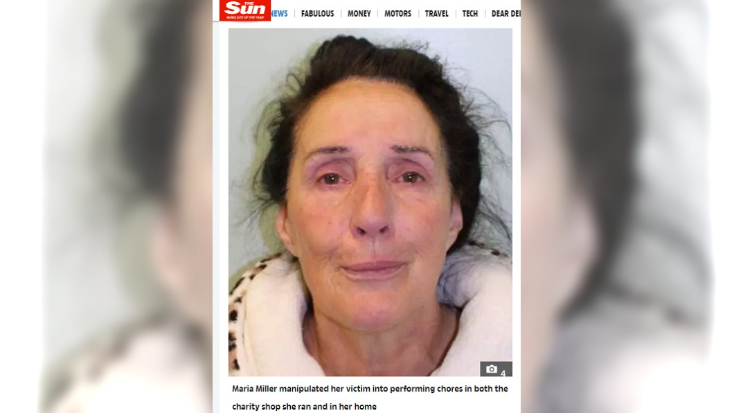 犯案女子米勒竟有慈善事業詐財。圖/翻攝自太陽報
