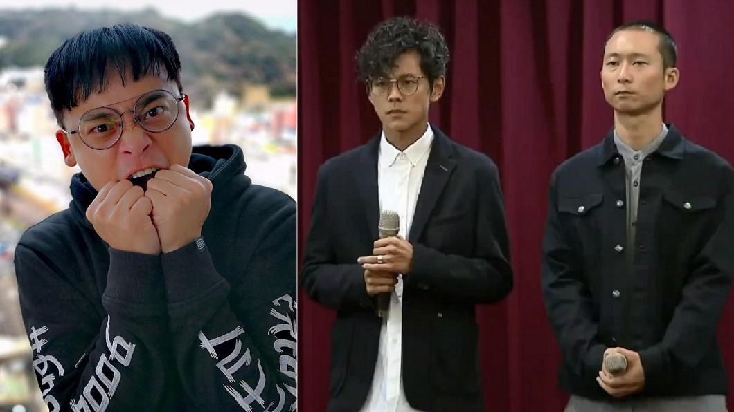 阿松(左圖)、阿翔(右圖左)和浩子(右圖右)。圖/翻攝自阿松臉書、TVBS資料照 阿翔偷吃道歉後躲去哪? 好友爆:他正全力做「這件事」