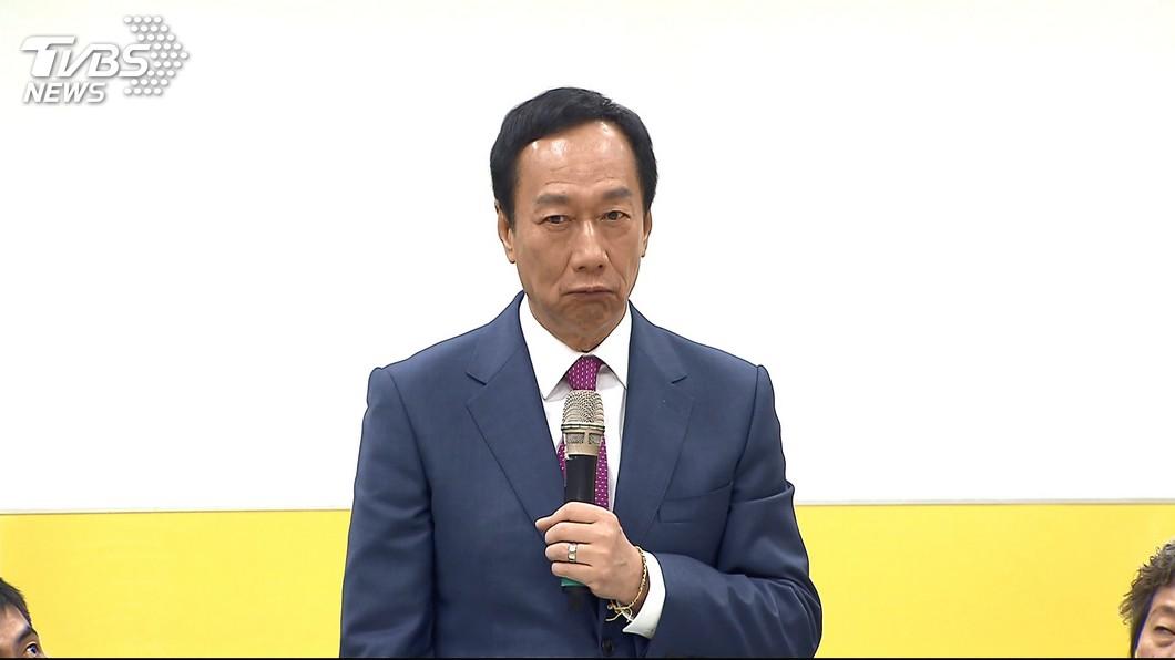 圖/TVBS 鐵路警遭刺身亡 郭台銘:若當總統為員警配電擊槍