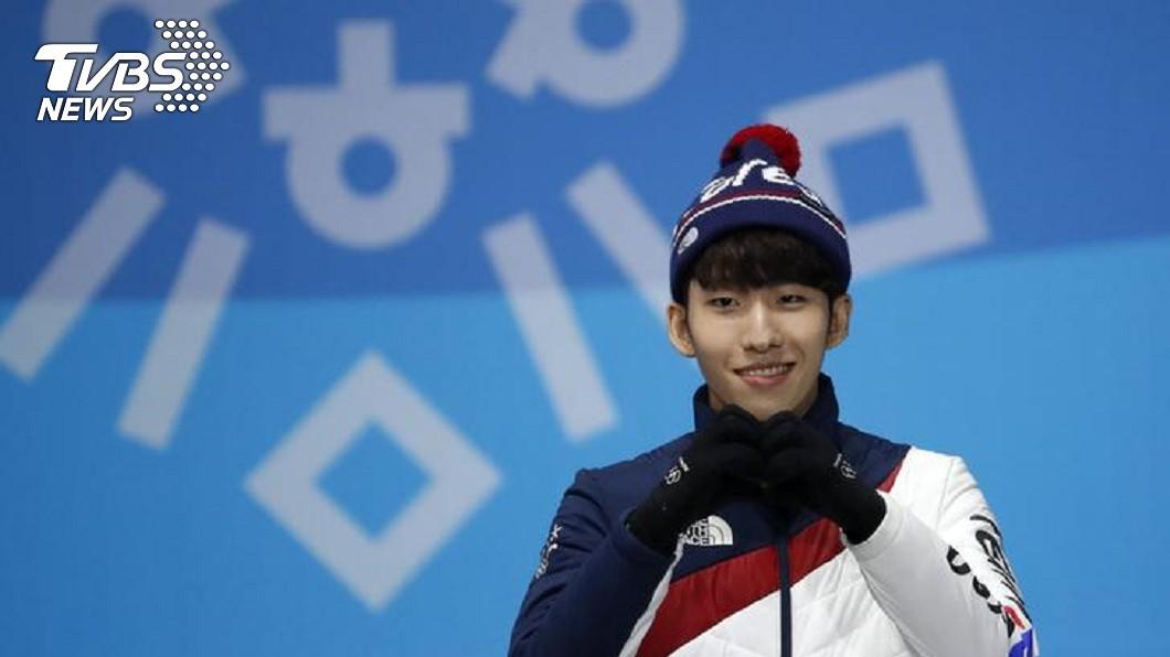 南韓奧運金牌選手林孝俊,脫隊友褲子涉性騷擾。圖/達志影像路透社 貪玩?把隊友褲子「全脫下來」 他害國家隊被逐出選手村