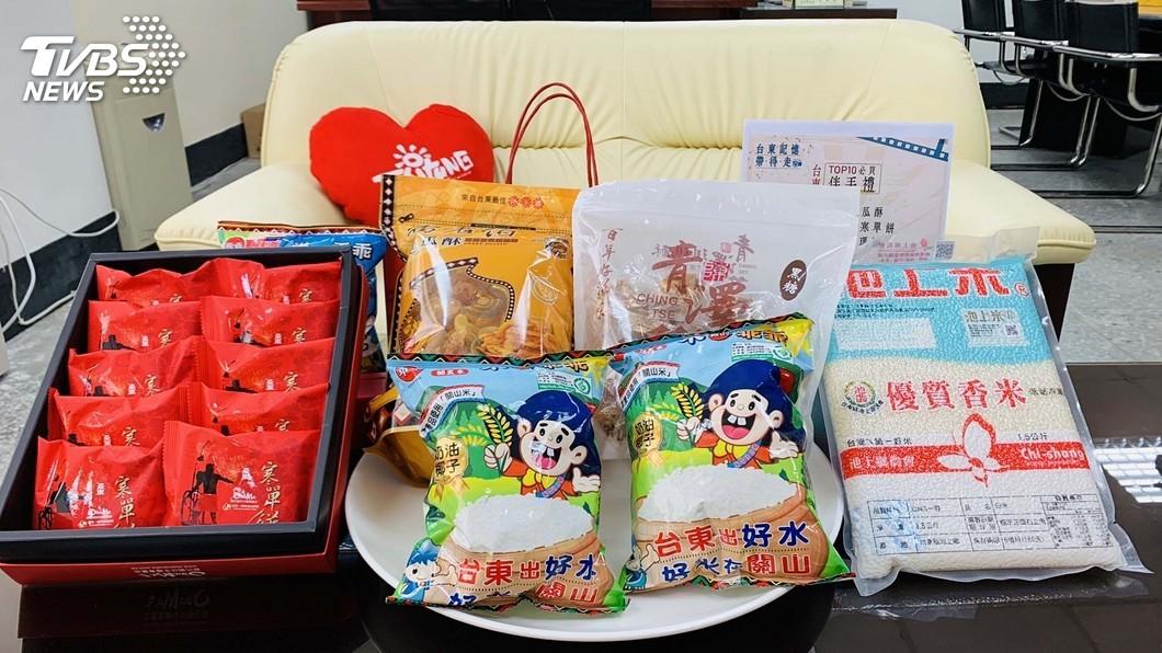 圖/中央社 池上米乖乖擊敗關山 入選台東10大伴手禮