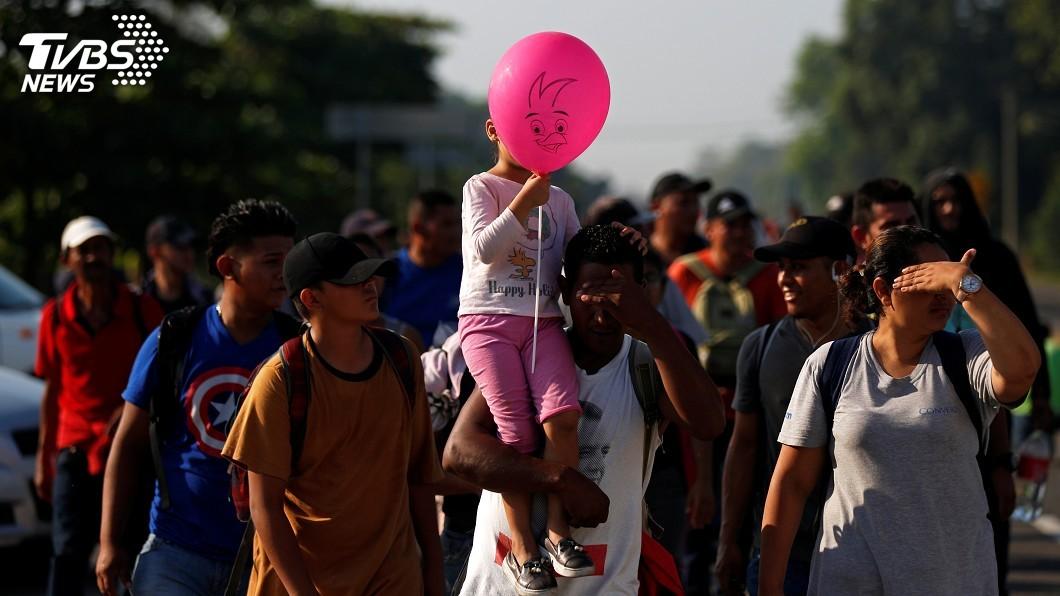 圖/達志影像路透社 與防長說法矛盾 墨總統稱不會在美國邊界逮移民