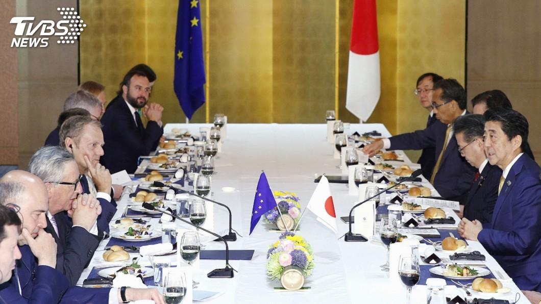 G20高峰會在日本大阪召開。圖/達志影像美聯社