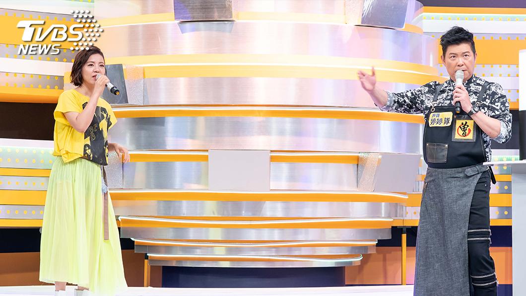 TVBS歡樂台《食尚玩家-歡樂有夠讚》邀請丁噹擔任出題大魔王 演唱經典曲目 。圖/TVBS