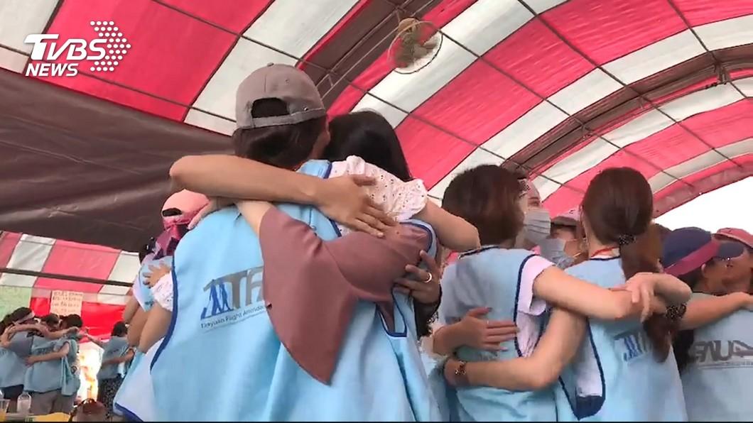 圖/TVBS 快訊/專注準備協商!晚間「挺罷工晚會」 工會:取消
