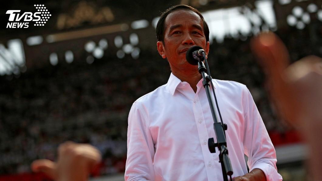 圖/達志影像路透社 印尼憲法法庭判決 總統佐科威確認連任