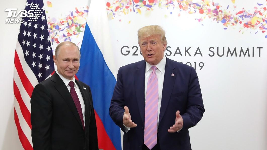 圖/達志影像路透社 G20場邊會晤普欽 川普:我們關係非常好