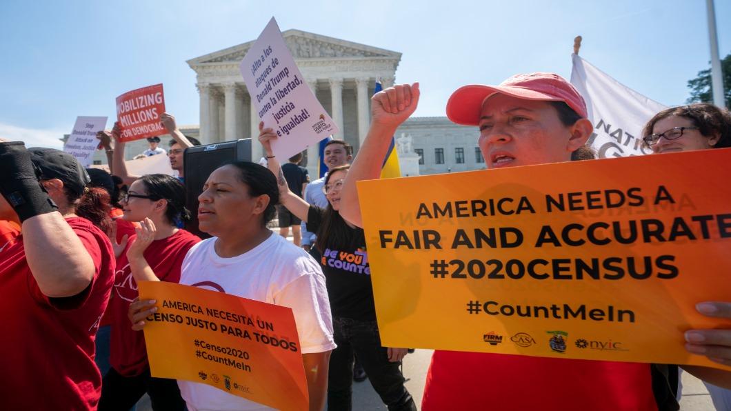 圖/達志影像美聯社 人口大普查問公民身分 美國最高法院否決